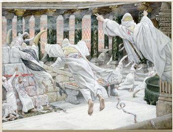 The Dead appear in the Temple, illustration for 'The Life of Christ', c.1886-96 Reprodukcija umjetnosti