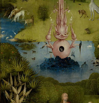 The Garden of Earthly Delights, 1490-1500 Reprodukcija umjetnosti