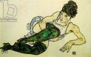 The Green Stockings, 1917 Reprodukcija umjetnosti