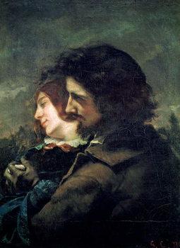 The Happy Lovers, 1844 Reprodukcija umjetnosti
