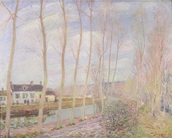 The Loing Canal, 1892 Reprodukcija umjetnosti