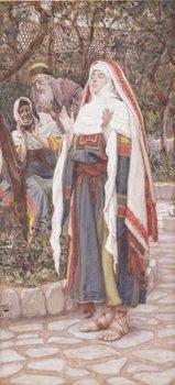 The Magnificat, illustration for 'The Life of Christ', c.1886-94 Reprodukcija umjetnosti