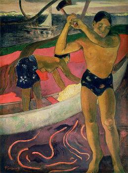 The Man with an Axe, 1891 Reprodukcija umjetnosti