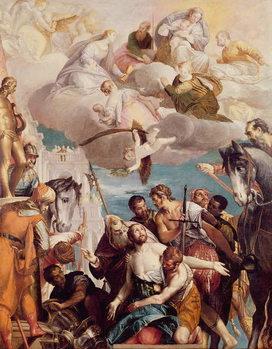 The Martyrdom of St. George Reprodukcija umjetnosti
