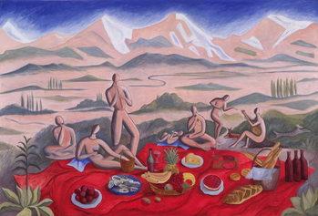 The Picnic, 1992 Reprodukcija umjetnosti