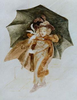 The Rainstorm Reprodukcija umjetnosti