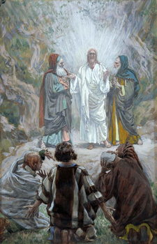 The Transfiguration, illustration for 'The Life of Christ', c.1886-94 Reprodukcija umjetnosti