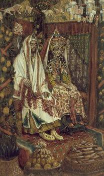 The Wedding at Cana, illustration for 'The Life of Christ', c.1886-96 Reprodukcija umjetnosti