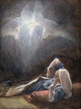 Vision of St. Joseph, illustration for 'The Life of Christ', c.1886-94 Reprodukcija umjetnosti