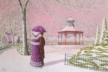 Walking in the Snow Reprodukcija umjetnosti