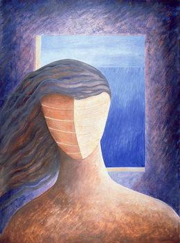 Zoe a la Fenetre, 1994 Reprodukcija umjetnosti