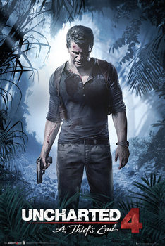 Uncharted 4 - A Thief's End - плакат (poster)