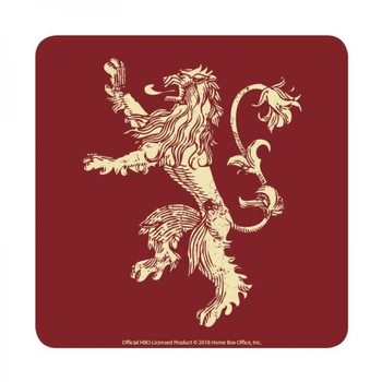 Game of Thrones - Lannister Untersetzer
