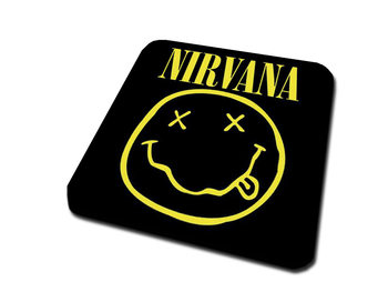 Nirvana – Smiley Untersetzer