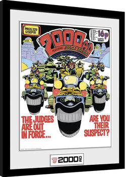 Uramljeni poster 2000 AD - Out in Force