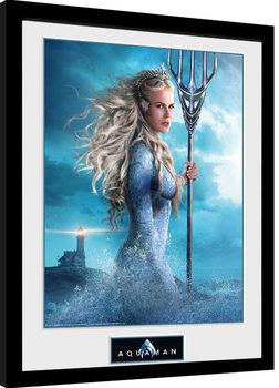 Uramljeni poster Aquaman - Atlanna