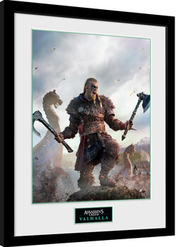 Uramljeni poster Assassin's Creed: Valhalla - Gold Edition