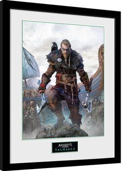 Uramljeni poster Assassin's Creed: Valhalla - Standard Edition