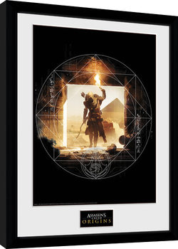 Assassins Creed: Origins - Wanderer Uramljeni poster