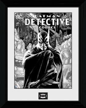 Batman Comic - Detective uokvireni plakat - pleksi