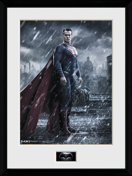 Batman Vs Superman - Superman Uramljeni poster