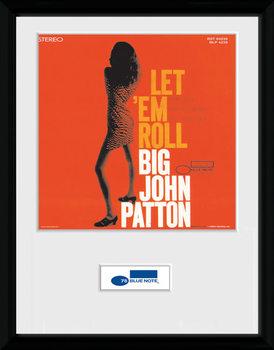Blue Note - Patton uokvireni plakat - pleksi