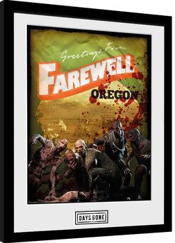 Days Gone - Greetings From Farewell Uramljeni poster