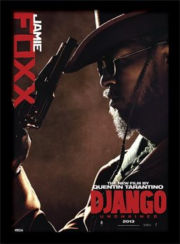 Django Unchained - Jamie Foxx uokvireni plakat - pleksi