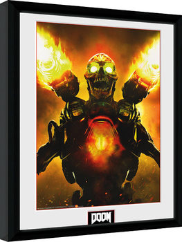Uramljeni poster Doom - Key Art