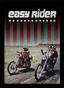 EASY RIDER - riders uokvireni plakat - pleksi
