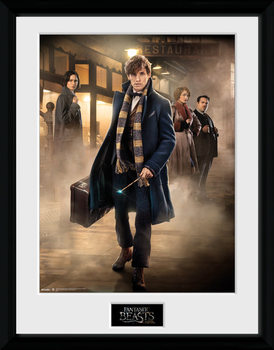 Fantastic Beasts And Where To Find Them - Group Stand uokvireni plakat - pleksi