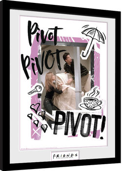 Uramljeni poster Friends - Pivot