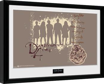 Uokvireni poster Harry Potter - Dumbledore's Army