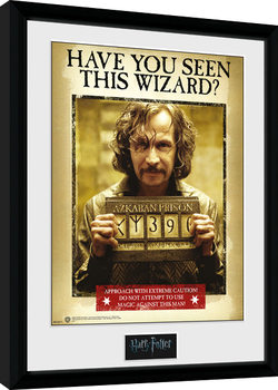 Uokvireni poster Harry Potter - Sirius Azkaban