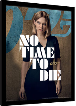 Uramljeni poster James Bond: No Time To Die - Madeleine Stance