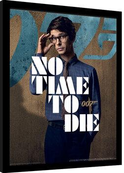 Uramljeni poster James Bond: No Time To Die - Q Stance