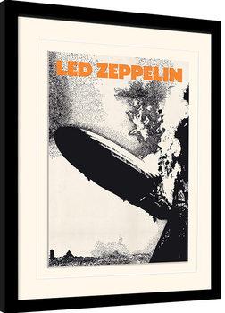 Uramljeni poster Led Zeppelin - Led Zeppelin I