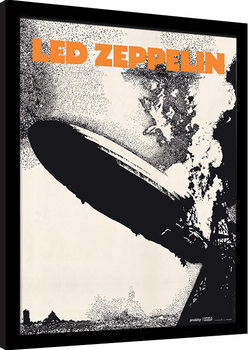 Uramljeni poster Led Zeppelin - Led Zeppelin I