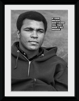 Muhammad Ali - Dreams uokvireni plakat - pleksi