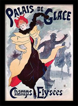 Palais de Glace - Champs Elysées  uokvireni plakat - pleksi