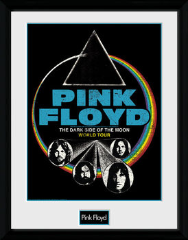 Pink Floyd - Dsom World Tour Uramljeni poster