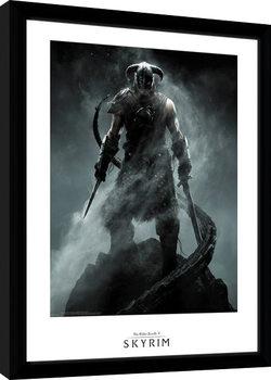 Uramljeni poster Skyrim - Dragon Born