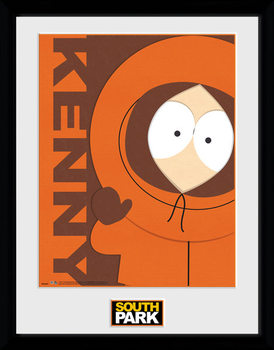South Park - Kenny uokvireni plakat - pleksi