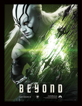 Star Trek Beyond - Jaylah uokvireni plakat - pleksi
