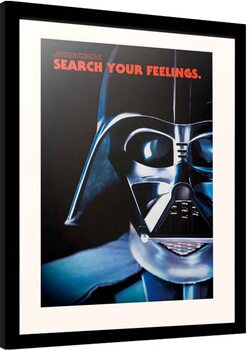 Uokvireni poster Star Wars - Darth Vader Frase