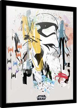 Uokvireni poster Star Wars: Episode IX - The Rise of Skywalker - Artist Trooper