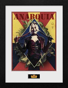 Uokvireni poster Suicide Squad - Harley Quinn