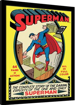 Uramljeni poster Superman - No.1