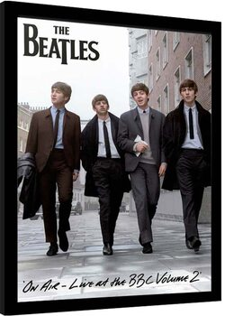 Uokvireni poster The Beatles - On Air 2013