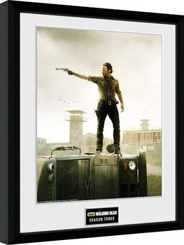 Uramljeni poster The Walking Dead - Season 3